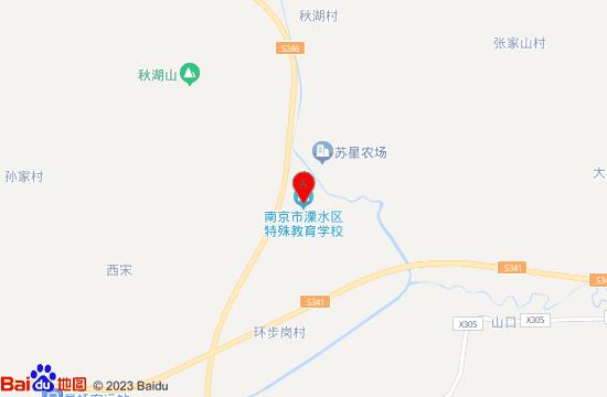 南京溧水牡丹园地图