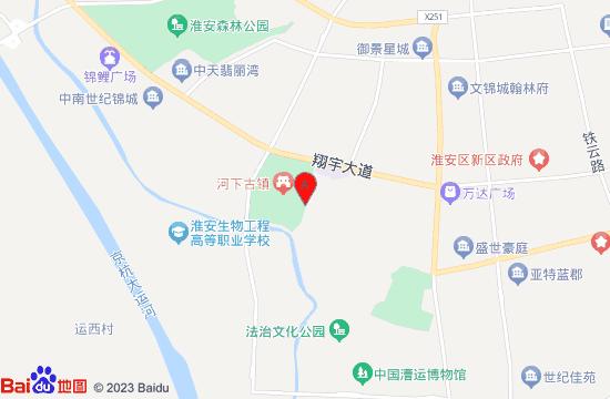 淮安沈坤状元府地图