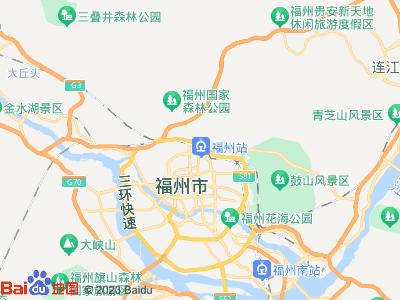 福州火车站周边地图