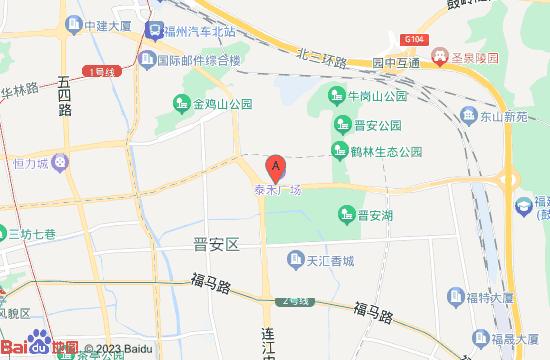 福州泰禾精灵动物城地图