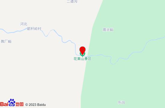 秦皇岛花果山景区地图