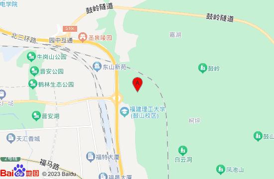 福州鳝溪地图