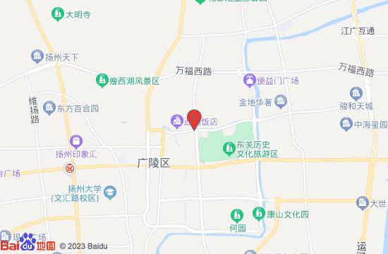 扬州史公祠地图