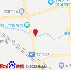 镇江荷花楼旅馆位置图