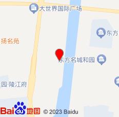 扬州行天涯旅舍位置图