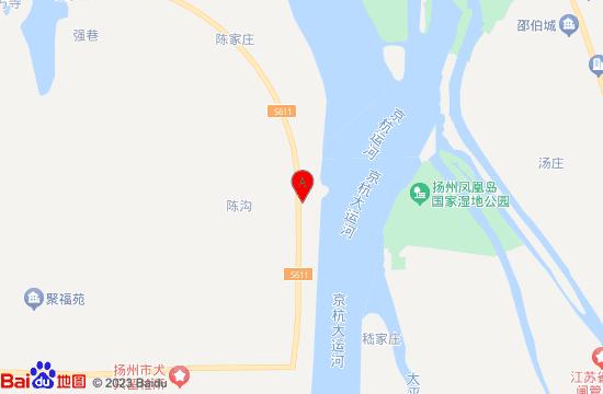 扬州邵伯湖滑雪场地图