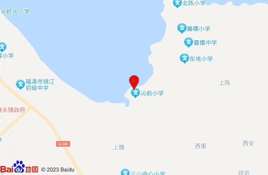 福清东龙湾海水温泉地图