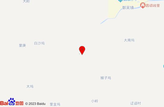 安吉鄣吴溪漂流地图
