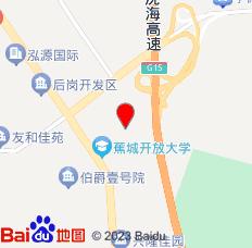 宁德京都宾馆(后岗京都路店)位置图