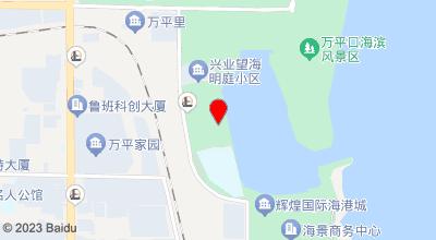 蓝海国际大饭店 地图位置