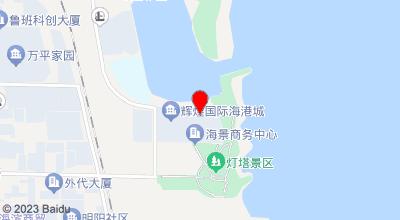 中豪海情假日酒店 地图位置