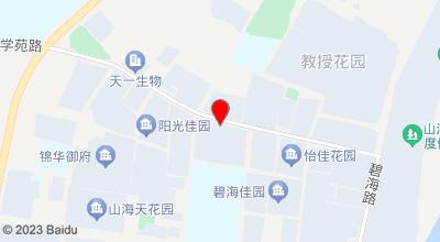 丽景假日酒店 地图位置