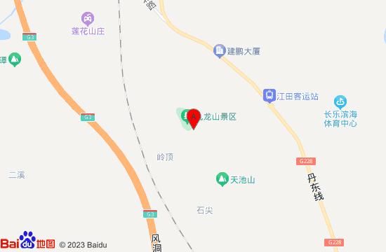 长乐九龙山风景区地图
