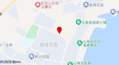 蓝色海湾好客宾馆 地图位置