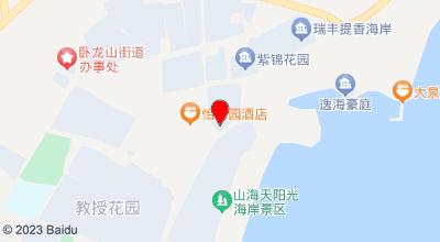 隆昌渔家旅馆 地图位置