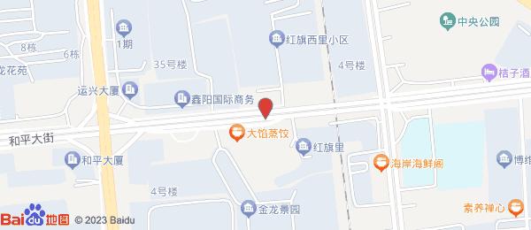 红旗西里小区地图