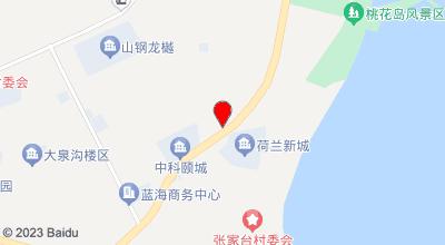天海缘渔家宾馆 地图位置