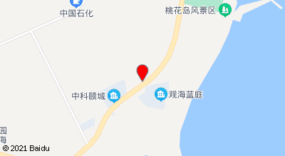 阳光沙滩渔家乐宾馆 地图位置