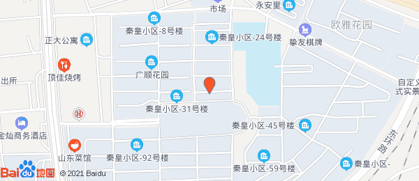 秦皇小区小区地图