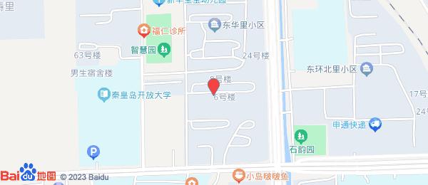 东华里小区地图