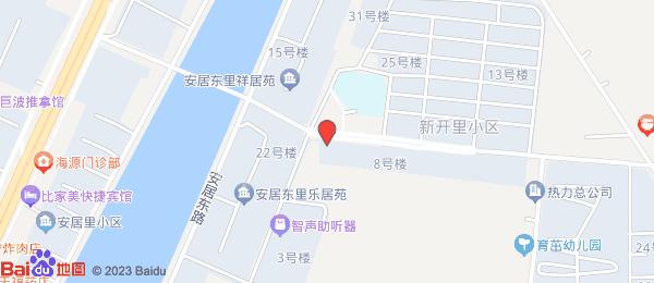 新开里小区地图