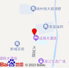 江都大桥镇惠民旅社位置图