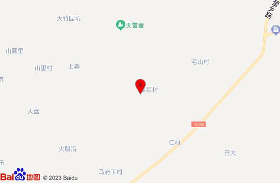 武义花田小镇地图
