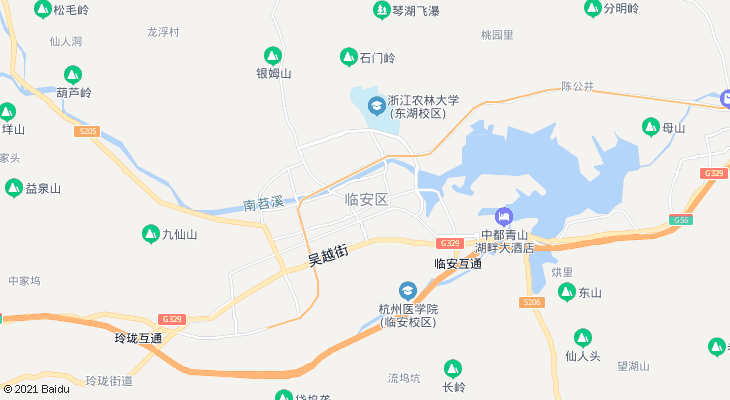 浙西大峡谷颐和山庄