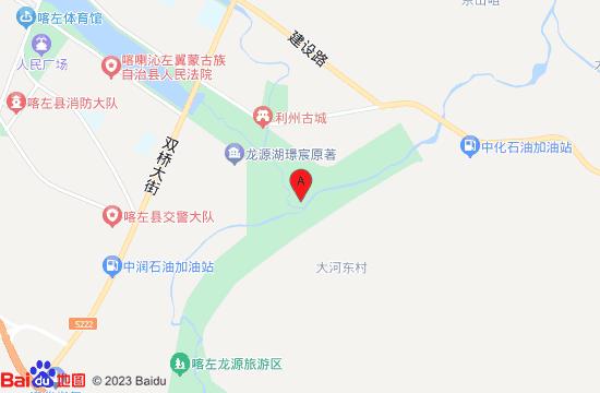 喀左龙源湖地图