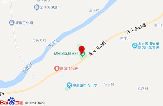 金华琐园村地图