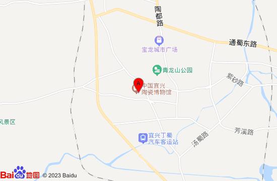 宜兴陶瓷博物馆地图