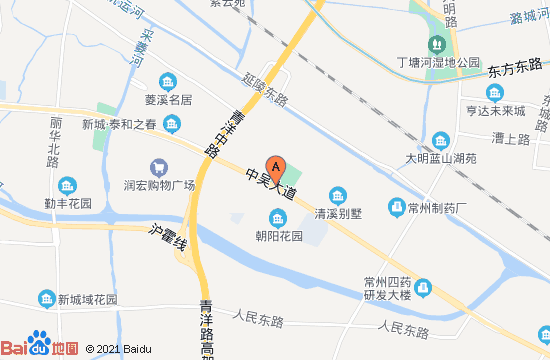 常州雕庄凤凰公园地图