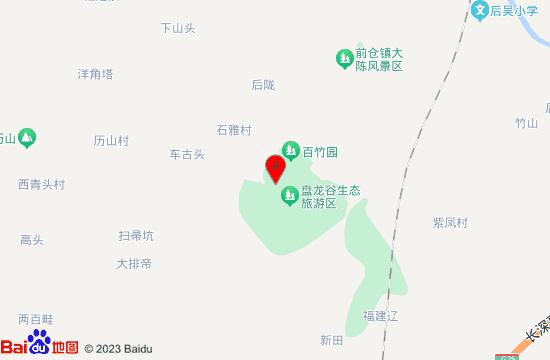 永康盘龙谷地图
