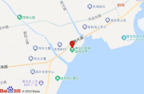 青岛红树林探险王国地图