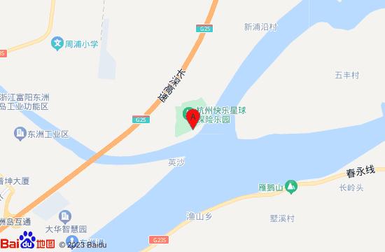 杭州恐龙梦公园地图