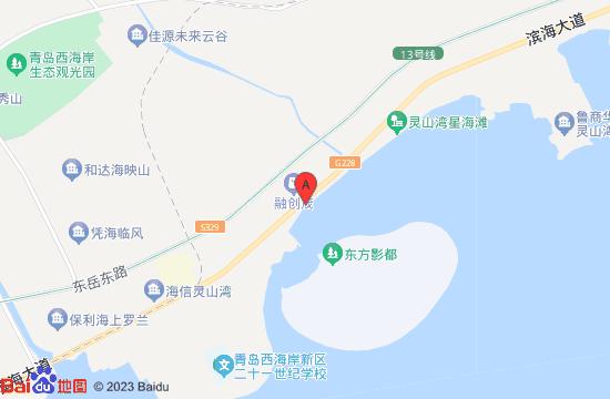 青岛东方影都青秀地图