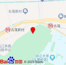 杭州西湖青旅位置图