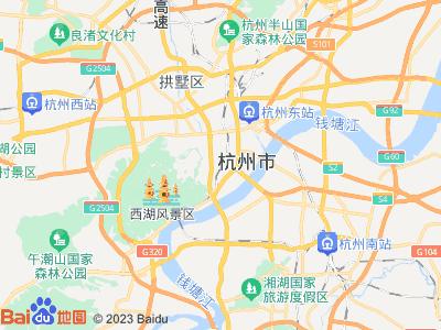 杭州火车站周边地图