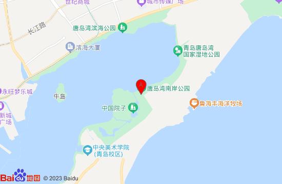 青岛中国院子地图