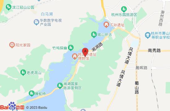 杭州长乔小海龟乐园地图