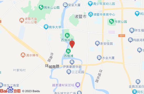 绍兴西施故里地图