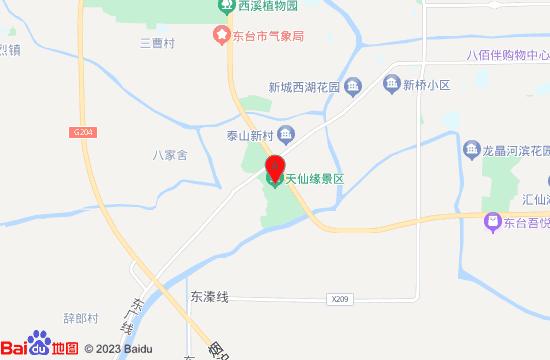 东台西溪景区地图