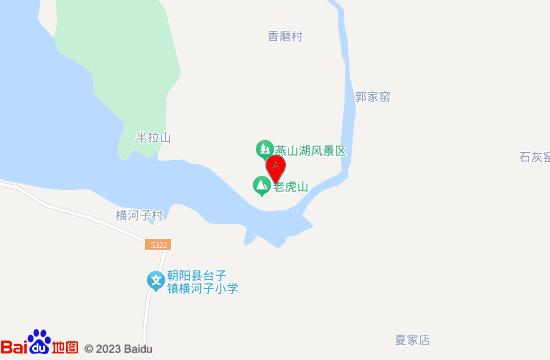 朝阳燕山湖地图