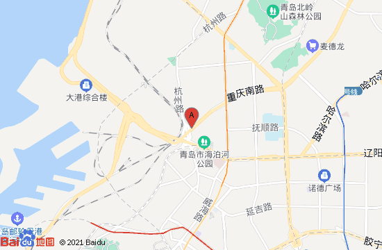 青岛交通安全博物馆地图