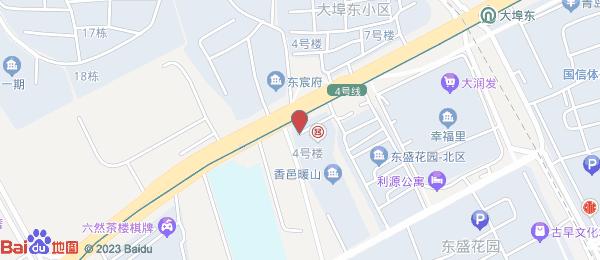东盛花园小区地图
