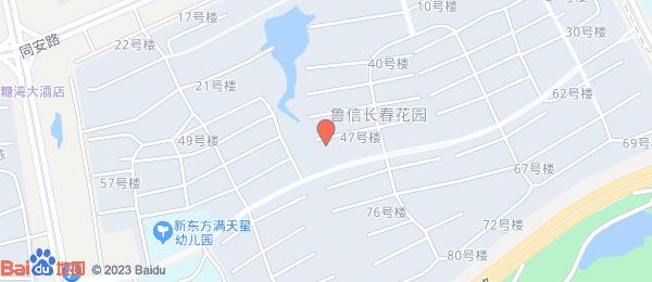 鲁信长春花园小区地图