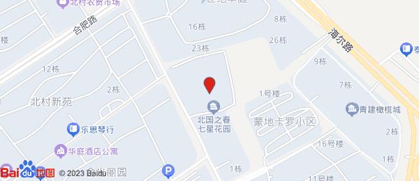北国之春七星花园小区地图