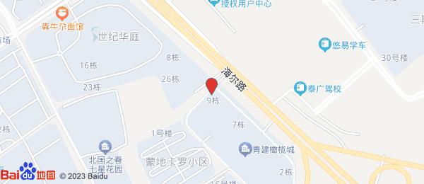 青建橄榄城小区地图