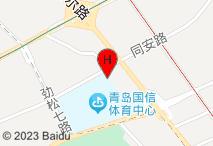 锦江之星(青岛海尔路店)电子地图