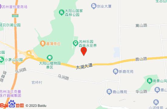 苏州乐园森林世界地图